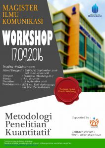 pengumuman workshop metlit